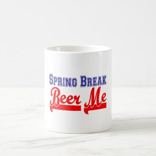 Cerveza de las vacaciones de primavera yo (fiesta  tazas