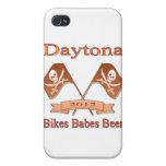 Cerveza de los bebés de las bicis de Daytona 2012 iPhone 4 Fundas