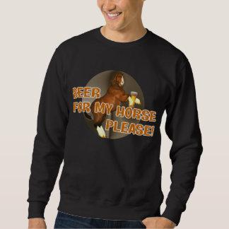 Cerveza de los vaqueros para mi camiseta del suéter