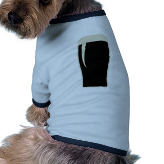 Cerveza de malta del o de la pinta camiseta con mangas para perro