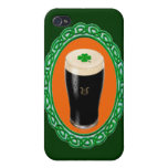Cerveza de malta irlandesa iPhone 4/4S carcasas