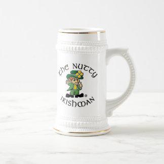 Cerveza de nuez Stein del irlandés Taza De Café