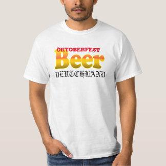 Cerveza de Oktoberfest Deutchland Playeras