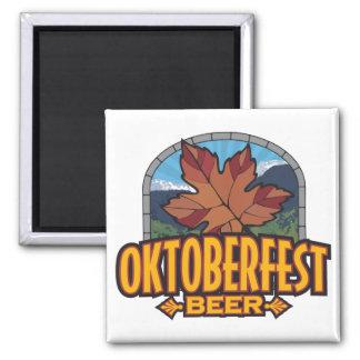 Cerveza de Oktoberfest Iman De Frigorífico