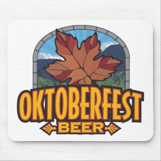 Cerveza de Oktoberfest Tapetes De Ratones