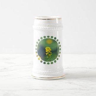 Cerveza de oro amarilla Stein de Rod Tazas De Café