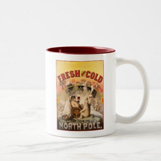 Cerveza de Polo Norte Tazas De Café