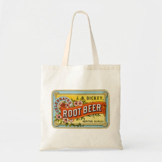 Cerveza de raíz del vintage del peto - bolso bolsa tela barata
