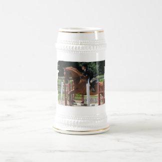 Cerveza de salto Stein del caballo Taza De Café