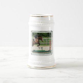 Cerveza de salto Stein del caballo Tazas