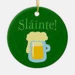 Cerveza de Sláinte Adornos De Navidad