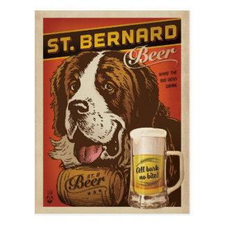 Cerveza de St Bernard Postal