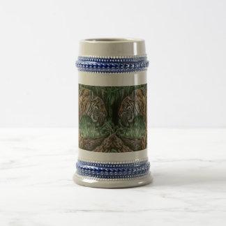 Cerveza de vagabundeo Stein del tigre Taza