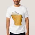 Cerveza de Wisconsin Remeras