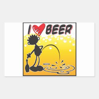 Cerveza del amor de Blacky I Pegatina