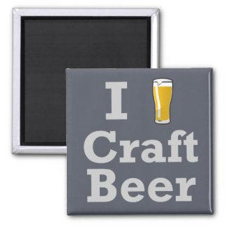 Cerveza del arte I [de la cerveza] Imán Cuadrado