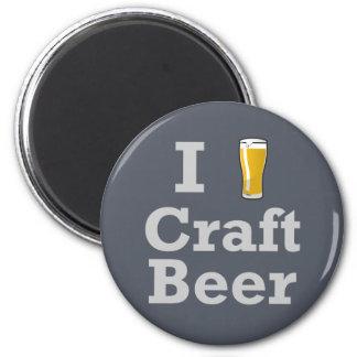 Cerveza del arte I [de la cerveza] Imán Redondo 5 Cm