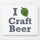 Cerveza del arte I [del salto] Alfombrilla De Ratón