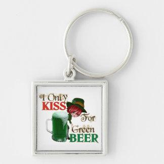 Cerveza del beso 4 - St Patrick Llavero