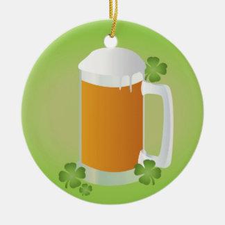 Cerveza del día de St Patrick Ornamentos Para Reyes Magos