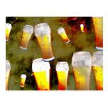 Cerveza del Grunge Postal