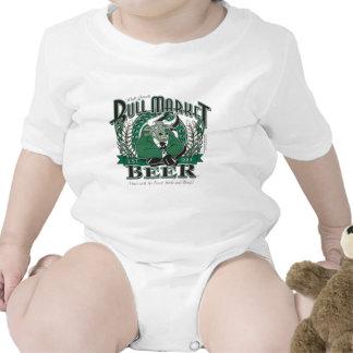 Cerveza del mercado alcista - Wall Street que Trajes De Bebé