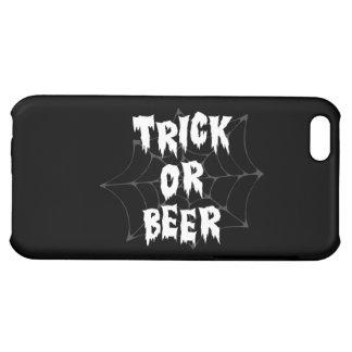Cerveza del truco o de la invitación de Halloween