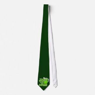 Cerveza del verde del día de St Patrick divertido Corbatas Personalizadas