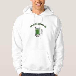 Cerveza del verde del día de St Patrick Pulóver