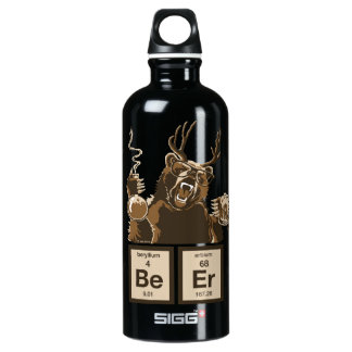 cerveza descubierta oso de la química