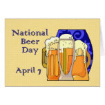 Cerveza día 7 de abril nacional felicitacion