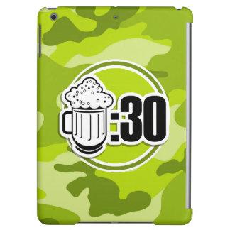 Cerveza divertida: 30, camo verde claro, camuflaje