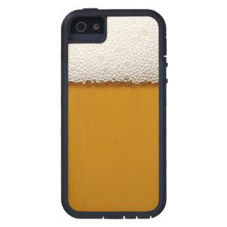 Cerveza divertida con la espuma impresa iPhone 5 funda
