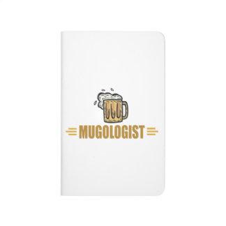 Cerveza divertida cuaderno