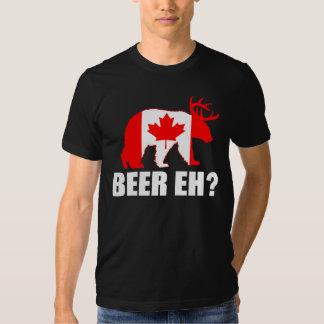 ¿CERVEZA EH?  Camiseta de Canadá