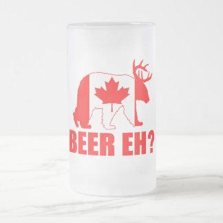 ¿CERVEZA EH?  Taza de cerveza divertida de los