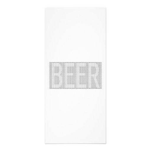Cerveza en el binario - ASCII Lona Personalizada