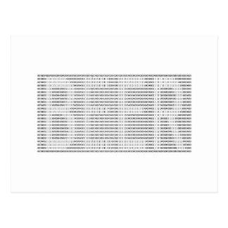 Cerveza en el binario - ASCII Postal