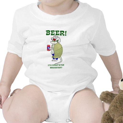 Cerveza es cuál está para el desayuno traje de bebé
