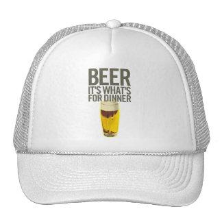 Cerveza es cuál está para la cena gorras