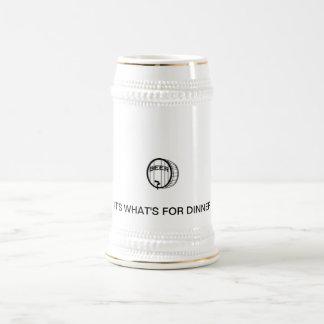 Cerveza es cuál está para la cena jarra de cerveza