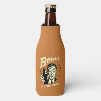 Cerveza: Es su amigo Enfriador De Botellas