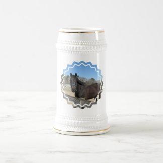 Cerveza excelente Stein del caballo Tazas De Café
