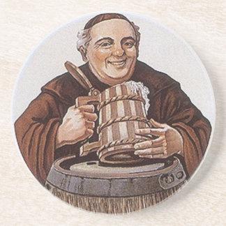 Cerveza feliz del Abadía-estilo de la prueba del m Posavasos Manualidades