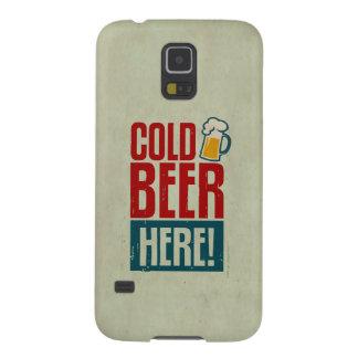 Cerveza fría carcasa galaxy s5