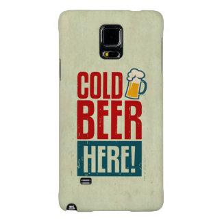 Cerveza fría funda galaxy note 4