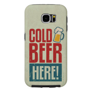 Cerveza fría funda samsung galaxy s6