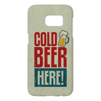 Cerveza fría funda samsung galaxy s7