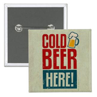 Cerveza fría pin