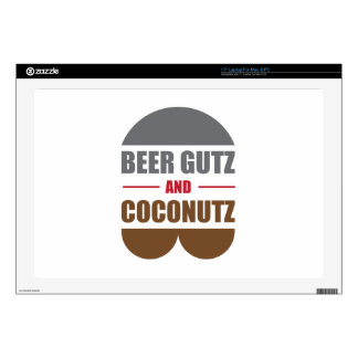 Cerveza Gutz y Coconutz Skins Para 43,2cm Portátiles